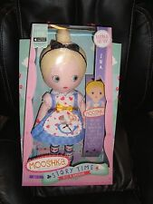 "Zapf Mooshka Storytime Alice In Wonderland Ina Soft Cloth 14"" Doll Rare Nib"
