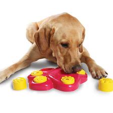 Pet Dog Bowl with Cover Feeder Slow Eating Dish Training Anti Choke Gluttony
