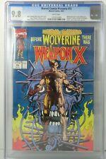 MARVEL COMICS PRESENTS #72 WOLVERINE WEAPON X ORIGIN CGC 9.8 1991 NEW 1009 U.S.