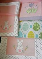 Design Imports Felt Easter Eggs Convertible Table Runner//Placemats Set//4