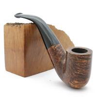NEW Peterson - 338 Aran Bent Fishtail Dublin Bowl Pipe