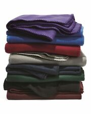 "PEACHES - Sherpa Blanket, Sports Throw, Picnic, Faux Lamb's Wool, 50"" x 60"""
