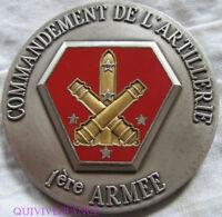 MED6967 - MEDAILLE COMMANDEMENT DE L'ARTILLERIE 1ère ARMEE