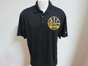 Sz S-2XL Black Warriors Nike Dri-Fit Mens Polyester #84A Polo Shirt