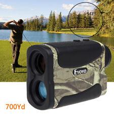 6X 700Yd Laser Range Finder Hunting Golf Distance Meter Speed Measurer Monocular