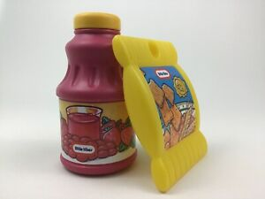 Little Tikes Food Chips and Berry Juice Toys 2pc Lot Pretend Play Vintage 90s