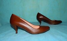 court shoes ROBERT CLERGERIE brown leather p 7,5 B or 37,5 fr super condition