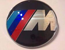 NEW Design laquer Car Emblem BMW ///M Front Badge Hood Logo 82mm 2 Pins