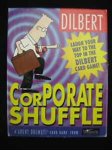 Dilbert Corporate Shuffle Card Game Dalmuti Wizards of the Coast COMPLETE