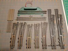 Ho Scale Code 100 Set Of 7 Turnouts & 2 power Straights