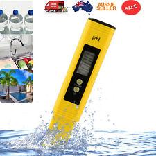 Water PH Meter Tester Aquarium Pool Pen Digital Hydroponics Portable Test Tool
