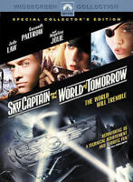 Sky Captain and the World of Tomorrow JUDE LAW ANGELINA JOLIE BRAND NEW DVD