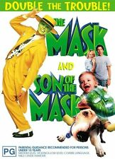 The Mask  / Son Of The Mask-(2-Disc Set)-DVDS LIKE NEW  *RARE REGION 4 DVD PACK*
