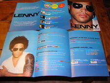 LENNY KRAVITZ STILLNESS OF HEART!!RARE FRENCH PRESS/KIT