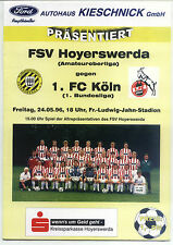 24.05.1996 FSV Los - 1. FC Köln