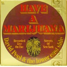 DAVID PEEL & The lower east side - HAVE A MARIJUANA - LP SEALED PROMO Made Italy