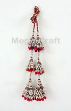 Handmade Belly Dance Waist Belt- Indian Banjara Tribal Kutch Tassel Waist Belt