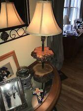 Burlewood Lamp