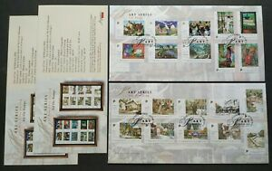 Singapore 2004 Art Series Artists Paintings Stamps FDC(pair)新加坡邮票首日封1对(艺术画家系列绘画)