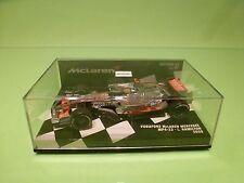 MINICHAMPS 84445 McLAREN MERCEDES MP4-23 - 2008 F1 HAMILTON 1:43 - NMIB