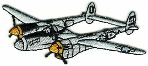 P-38 Lightning WWII Allied Warbird Fighter Plane Patch