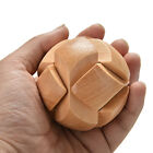Wooden Football Lock Educational Puzzle Brain Teaser Removing Assemb Kid Toy OHK