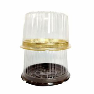Light Duty Clear Cake Boxes - Plastic Blister Dust Protection Cheesecake Mini