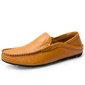Men's Casual Lightweight Slip-On Loafers Moccasins Slip On Penny Driving Shoes