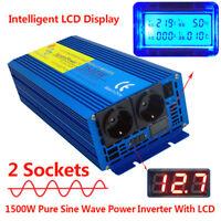 3000W Max Reiner Sinus Spannungswandler 12V auf 230V Inverter Wechselrichter