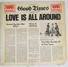 WAR Eric Burdon LOVE IS ALL AROUND Vinyl LP Record Album  ABCD 988