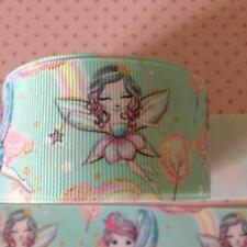 """Fairy Design Grosgrain Ribbon. 1.5"""" Perfect for Hair Bows and other Crafts."""