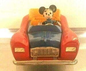 Walt Disney Mickey Mouse Car 113-Politoys-Polistil Topolino Automobile-600 First