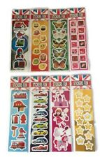 200 x Packs Of Stickers - Childrens Kids Party Bags Birthday Crafts Art Toy Gift
