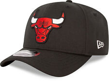 Chicago Bulls New Era 950 Black Stretch Snapback Cap