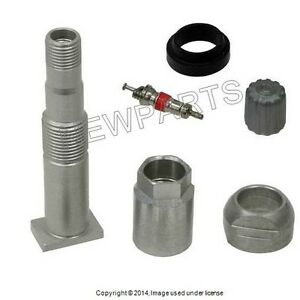 OEM TPMS Metal Wheel Valve Stem w/ Cap For Mercedes Benz 000 400 10 00