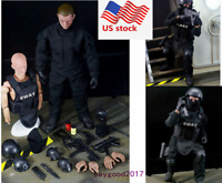 """1/6 Soldier Action Figure 12"""" SWAT Uniform Military Army Model Toy Kids Gift"""
