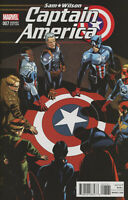Captain America Sam Wilson #7 Variant Chris Sprouse Captain America Of All Eras