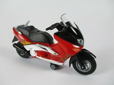 Roller Scooter Motor scooter rot with Sound - Light ,Model diecast,13 cm