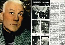 Coupure de Presse Clipping 1978 (4 pages) Raymond Rouleau