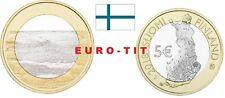 5  EURO  FINLANDE COMMEMORATIVE  SERIE   PAYSAGE  N° 4  /    2018  NOUVEAU  2018