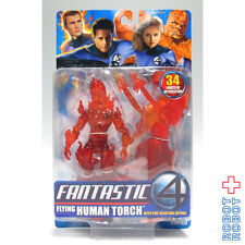 Fantastic 4 Four Flying Human Torch Action Figure Toy Biz Japan