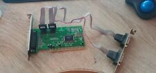 Sweex NM9735 PCI Parallel Port Card with com ports serial card