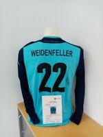 Deutschland Torwarttrikot Weidenfeller signiert DFB Trikot Autogramm Fußball 176