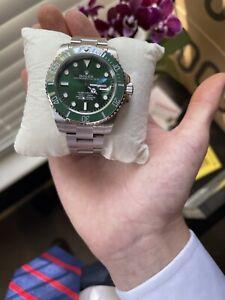 """Rolex Submariner Date Green Men's Watch - 116610LV """"Hulk"""""""