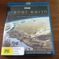 Planet Earth BBC The Complete Series Bluray LIKE NEW! FREE POST