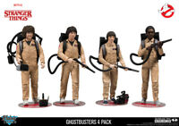 Ghostbusters Deluxe 4-Pack Netflix Stranger Things 18 cm Figur McFarlane Toys