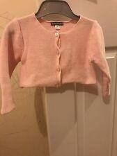 Beautiful Baby Girl Short Cardigan Pink 12-18 Months By Vertbaudet BNWT