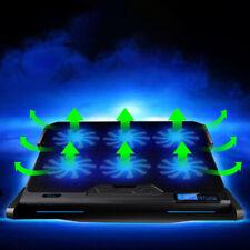 "Laptop USB Cooler Cooling Stand Pad 6 Fans Mat External For 14""-17""  Notebook PC"