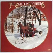"The Statler Brothers Christmas Card 33 RPM 12"" LP Mercury 1978 SRM-1-5012"