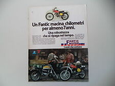 advertising Pubblicità 1978 MOTO FANTIC CABALLERO CASA TX 190 50